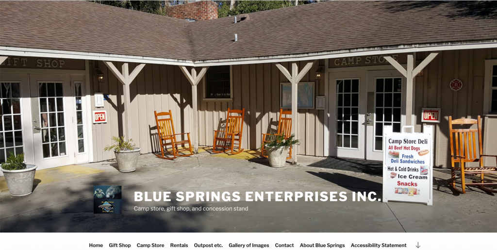 Blue Springs Enterprises, Inc. storefront